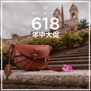 无门槛8折 €360收乐子同款Mirta 意大利宝藏网站 618双重优惠 收高质感小众包包