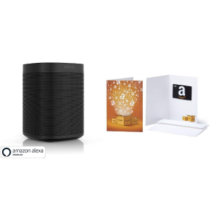 $199Sonos One with $50 Amazon Gift Card