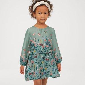 低至3折H&M 儿童服饰、鞋履特卖 时尚童装平价买