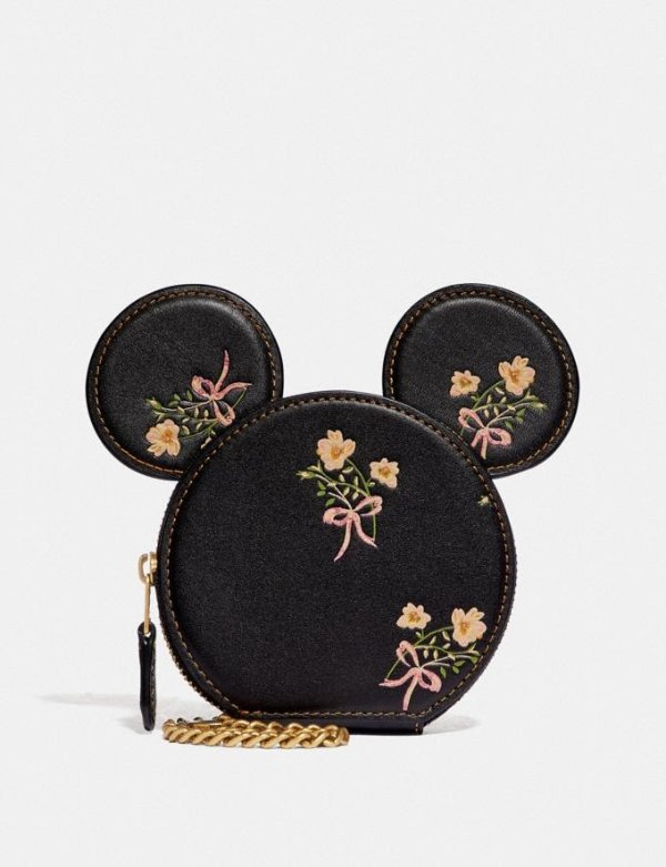 Disney X Coach 米妮零钱包