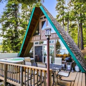 3卧室 可入住6人Tahoe Park Beach 湖景独栋别墅