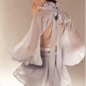 满额8折 £252收连衣裙Zimmermann 澳洲仙女品牌大促 解锁仙女都爱的美裙