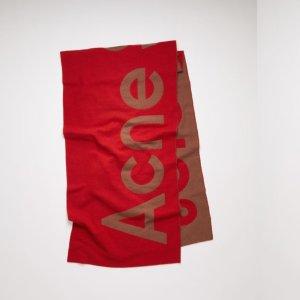 5折起 £66就收围巾!Acne Studios官网 围巾帽子大促专区 断货快 速抢