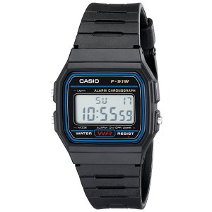 CasioF91W-1 Classic Resin Strap Digital Sport Watch