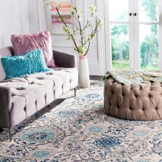 额外7折Overstock 精选 Safavieh 客厅、卧室地毯折上折
