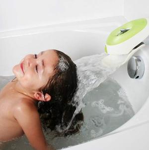 史低价$11.99(原价$17.99)Boon FLO 儿童瀑布导水浴室喷头/淋浴分流器