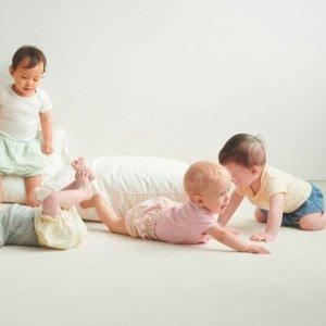T恤$1.9起UNIQLO 婴儿及幼童服饰特惠 家居服套装$7.9