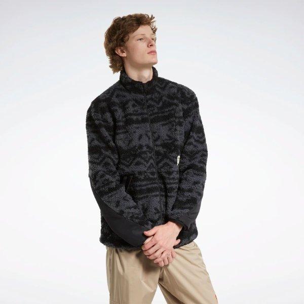 羊羔绒外套 黑色