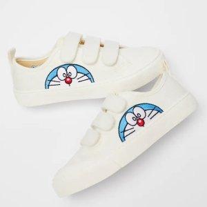 $19.99起Zara x Doraemon 联名童鞋,童年蓝胖子yyds