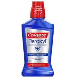 Colgate 薄荷味抗菌漱口水 250mL, 8.45 fluid ounce