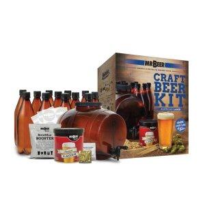 Mr. Beer American Lager Complete Craft Beer Brewing Kit