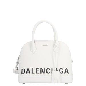 Balenciaga白色Logo贝壳包