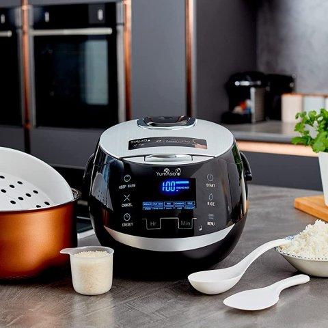 6.3折起 低至€18.99可收Amazon 电饭煲合集 多功能、大容量 蒸煮焖炒一锅搞定