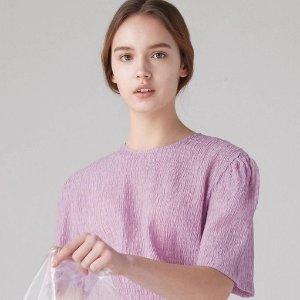 低至4折 €69收封面同款W Concept 人间值得温柔紫专场 今年紫色必须C位出道