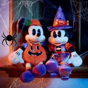 £21收米奇公仔Disney官网 万圣节限定公仔、水杯、儿童节日装扮上线