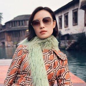 低至7折+镜片无门槛7折+免邮Gucci 时尚眼镜、墨镜热卖 透明脚框镜$227起 封面同款$427