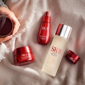 相当于变相7.75折最后一天:SK-II 护肤品最高减$450促销 收神仙水超值套装,美白小灯泡