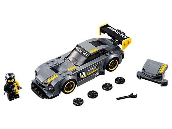 Speed Champions 系列 Mercedes-AMG GT3 - 75877