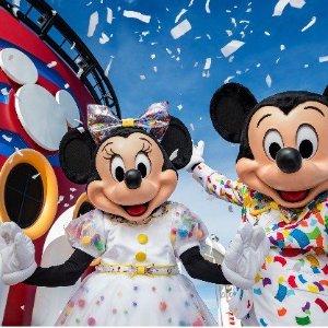 人均$802起 阳台房只要$821迪士尼邮轮3晚巴哈马航线 万圣节主题 卡纳维拉尔港往返