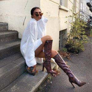 低至6折 $51收lowland平价代替款ASOS 精选女士美靴美鞋特价热卖 穿上变身逆天大长腿
