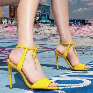 低至5折+额外8折Steve Madden 美鞋夏季特卖会,$23收可爱毛绒鞋