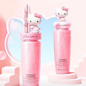 长猫粉水 可爱加倍预告:Lancôme X Hello Kitty 联名粉水 让肌肤畅游夏日粉海