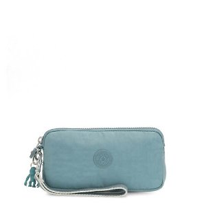 Kipling$15 with purchase of $75+Wristlet - Aqua Frost