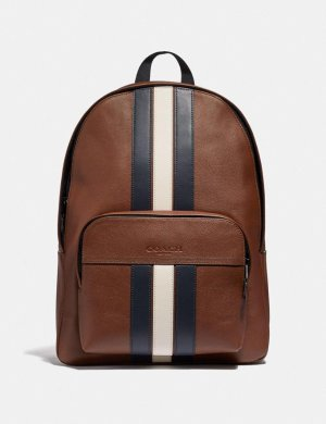 Houston Backpack With Varsity Stripe | COACH