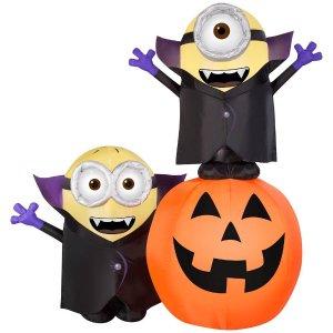 额外7.5折, 3.6米充气死神$74限今天:The Home Depot Halloween万圣节庭院装饰品 一日闪购