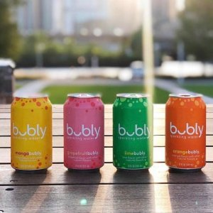 $7.23bubly Sparkling Water, Lime, 12 fl oz. cans (18 Pack)