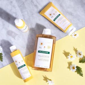 $9起收网红防脱发洗发水Klorane 洗发护发产品热卖 天然植物护发