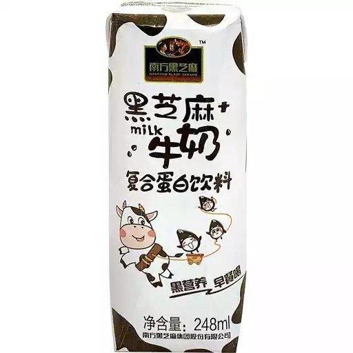 南方黑芝麻牛奶 8.38oz