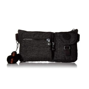 现价$38.4(原价$64)Kipling 黑色款斜挎腰包两用款热卖