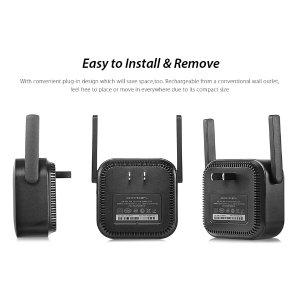 mi安装简单,支持多达64台设备WiFi路由器放大器