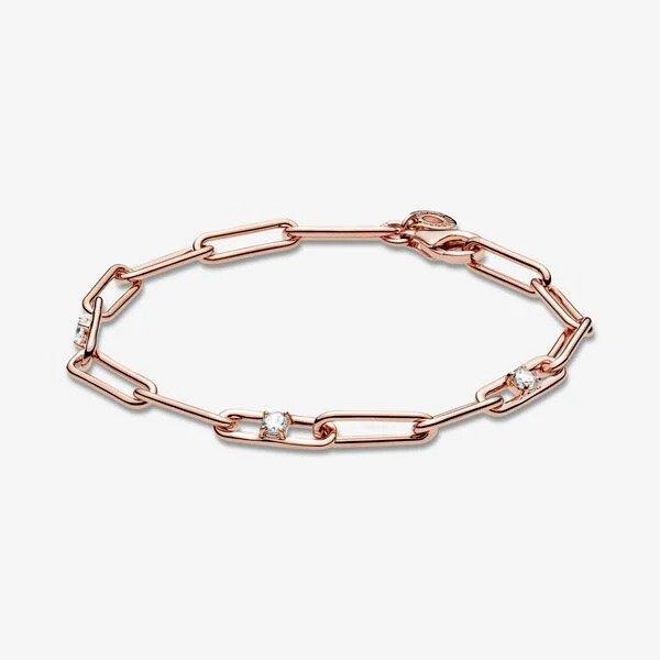 链条锆钻手链