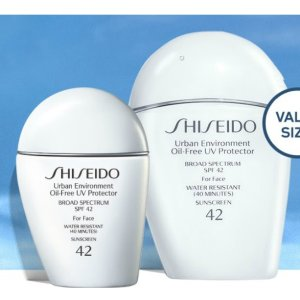 Suprized SunscreenUrban Environment Oil-Free UV Protector Value Size @ Shiseido