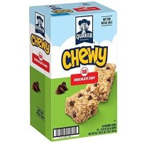 QUAKER Chewy Granola 巧克力碎块燕麦棒 0.84 Ounce 58条