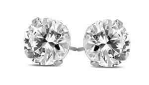 Dealmoon Exclusive!$9441 1/2 Carat TW Diamond Earrings in 14K White Gold @ Szul.com