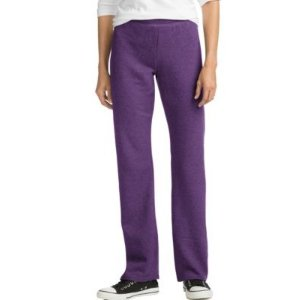 HanesComfortSoft™ EcoSmart® Women's Open Bottom Leg Fleece Sweatpants