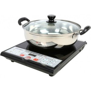 $34.49Tayama SM15-16A3 Induction Cooker with Cooking Pot, Black