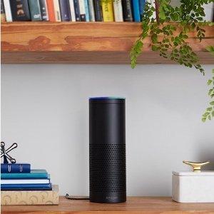 $49.99 (原价$179.99)Amazon Echo (1代) 智能音箱 语音管家