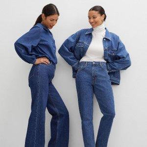 4.5折起 £19就收牛仔裤& Other Stories 新款牛仔穿搭专区 今年最潮剪裁上架