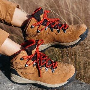 低至5折+包邮 一脚蹬$34收Columbia 女士户外运动鞋、登山鞋、休闲鞋等