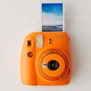 Fujifilm Instax Mini 9 Clear Lens Instant Camera