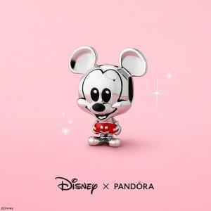 买3免1=变相6.7折Pandora官网 全场大促 收新款手链、Disney联名等