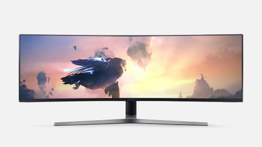"CHG90 49"" 32:9 1080P 144Hz FreeSync HDR 曲面显示器"