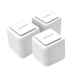$104.99 (原价$350)Jetstream 全屋WiFi系统 AC1200 Mesh路由器3件装