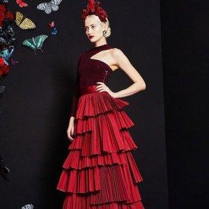 低至2折 $278收梦幻小红裙、蕾丝裙Alice+olivia 女装专场 明星最爱 你是童话世界里的爱丽丝吗