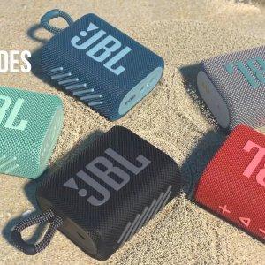 低至7.3折 €29收黑色款JBL GO 3 音乐金砖蓝牙音箱热促 多色可选