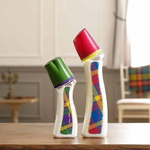 Betta贝塔奶瓶 Brian S3-Tartan 240ml(PPSU材质)曲线型瓶身 <Brian奶嘴>
